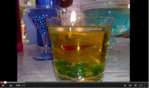 """Come realizzare in casa """"candele decorative"""" che non si consumano."""