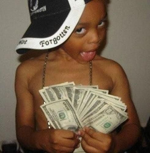 bimbo soldi
