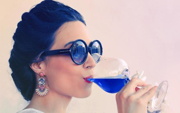 """Novità: il vino """"blu zaffiro"""""""