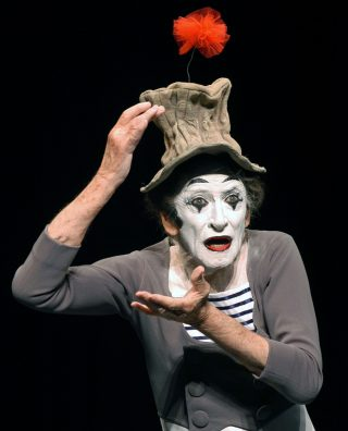 Storia del grande mimo Marcel Marceau